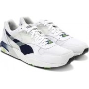 Puma R698 Mesh-Neoprene Men Mid Ankle Sneaker For Men(White)