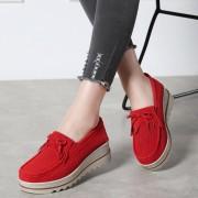 Las mujeres Ultra Ligero flecos zapatos casual transpirable zapatos del Slip-on