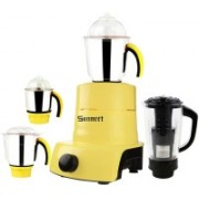 Sunmeet ABS Plastic Body Brand Outlet model_MA_426 ABS Plastic YPMA17_426 750 W Juicer Mixer Grinder(Yellow, 4 Jars)