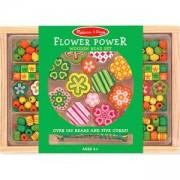 Творчески комплект - Дървени бижута цветя - 14178 - Melissa and Doug, 000772141789