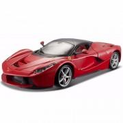 Bburago model auto Ferrari Laferrari rood 1:24