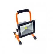 Solight LED reflektor Solight 20W, přenosný, nabíjecí, 1600lm, oranžovo-černý WM-20W-D