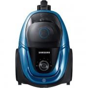 Прахосмукачка Samsung VC07M3150VU/GE, Мощност 750 W, Клас А, Син