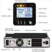 UPS, AEG Protect B.2300 PRO, 2300VA, Line-interactive (6000008431)
