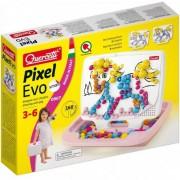 Set de joaca Quercetti Fanta Color Portabil Mozaic pentru fete, 160 piese