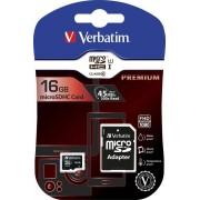 Verbatim 64 GB microSDXC Speicherkarte mit SD Karten-Adapter, Class10