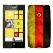 Husa Nokia Lumia 520 Silicon Gel Tpu Model Germany Flag