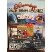 Amazing Mahjong Games 4 Pack Mysterious Lands with Bonus Lamp of Aladdin Game