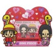 One Piece x Pansonwakusu Rubber Frame Luffy x Hancock (337 837) (Japan Import)