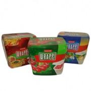 Set 3 cutii alimente dreptunghiulare Curver Wrapp 3 x 1 L