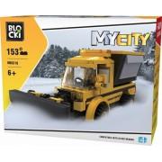 Joc constructie, My City, Plug deszapezire, 153 piese Blocki