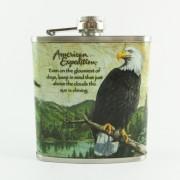 Sticla metalica de buzunar - vultur