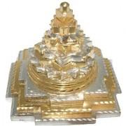 Jewelswonder Prabhu Drishti Gold Silver Shree Yantra