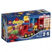 Lego Super Heroes Spider Man Spider Truck Adventure Building Kit