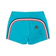 Sundek Rainbow Mid Length Swim Shorts Light Blue