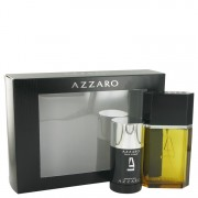 Azzaro Eau De Toilette Spray 3.4 oz / 100.55 mL + Deodorant Stick 2.6 oz / 76.89 mL Gift Set Men's Fragrance 450076