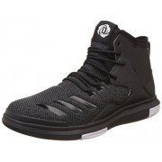 adidas Men's D Rose Lakeshore Ultra Utiblk, Cblack and Ftwwht Basketball Shoes - 6 UK/India (39.33 EU)