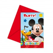 Invitatii petrecere Mickey Mouse Playful