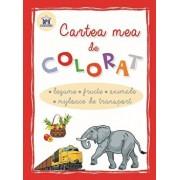 Cartea mea de colorat - legume, fructe, animale, mijloace de transport/***
