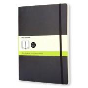 Bok Moleskine XL s olin svart