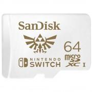 Memoria MicroSDXC 64GB Sandisk SDSQXAT-064G-GNCZN para nintendo switch