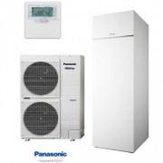 Panasonic KIT-AXC12HE8 Aquarea T-CAP 3fázisú, hűtő-fűtő hőszivattyú 12kw