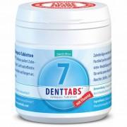 Denttabs tandenpoets kauw tabletten Stevia extract 125 stuks