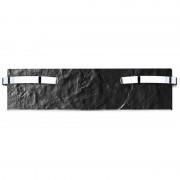 Climastar Slim 500 Toalleros (Leistung/Grösse: 500 W / 25 x 100 cm, Farbe: Black Slate)