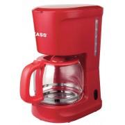 Cafetiera Zass ZCM 10 RL Red Line, 1000W, 1,5L , capasitate 12 cesti, indicator nivel apa, filtru permanent detasabil, functie antipicurare, functie mentinere cald