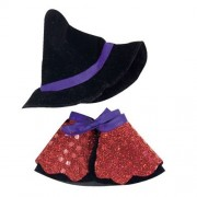 [Putiruu Co., Ltd.] TB witch cloak 12cm stuffed animals for the dress-up clothes bear stuffed Halloween Costume