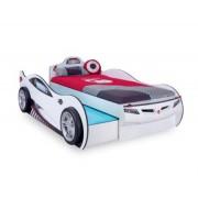 Cilek Coupe auto krevet (sa fiokom) beli 90x190 & 90x180 cm ( 20.03.1310.00 )