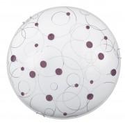 Plafoniera Jolly lilac, 1 x E27 max 60W