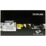 Toner Lexmark C5220KS black, c522/c524/c530/c532/c534, 4000str.