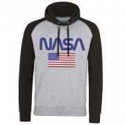 NASA - Old Glory Baseball Hoodie