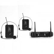 Malone UHF-250 Duo2 Sistema micrófono inalámbrico 2 canales (BR4-UHF-250-Duo2)