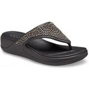 Crocs Monterey Diamante Wedges Damen Black 42