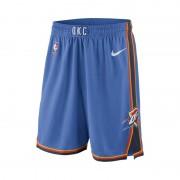 Oklahoma City Thunder Nike Icon Edition Swingman NBA-Herrenshorts - Blau