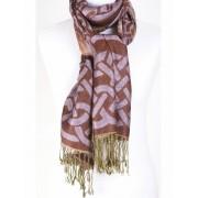Pashmina sjaal met grafisch dessin