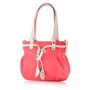 Butterflies Women's Handbag Red (BNS 0385 RD)