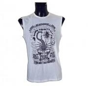 Scorpion Bay T-Shirt smanicata Beach Rock Taglia: S Uomo Colore: Bianco MSL 3181-08