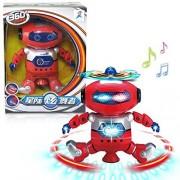 Littleice Electronic Walking Dancing Smart Space Robot Littleice Astronaut Kids Music Light Robots Toys