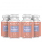 TummyTox Carni Fit - L-carnitina quemagrasas para mujeres. 4x 60 cápsulas