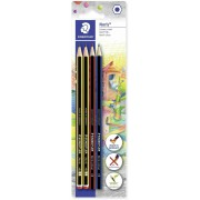 Staedtler Set Noris. Con 2 matite in grafite e 2 pastelli