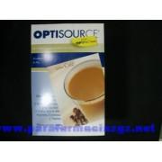 OPTISOURCE BATIDO CAFE 50 GR 24 SOBRES 501593 OPTISOURCE - (50 G 24 SOBRE CAFE )