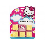 Set 5 stampile din lemn Hello Kitty