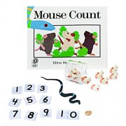 Primary Concepts PC-1507 Mouse Count 3-D Children Play Book