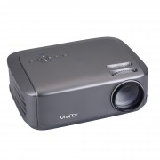 UHAPPY U68 1080P LED HD Mini Projector Home Theater - Grey/UK Plug