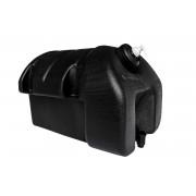 Réservoir d'eau en plastique 30 l avec porte savon TAKLER - noir