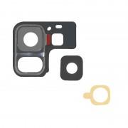 Avizar Lente Protetora Preta de Câmara Traseira para Samsung Galaxy S9 Plus