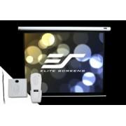Ecran proiectie electric cinema EliteScreens ELECTRIC100V, marime vizibila 203cm x 152cm, 1 telecomanda, 3 ani garantie